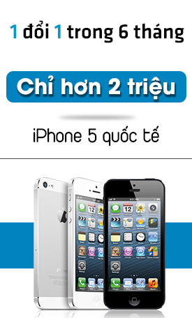 iPhone 5 quoc te