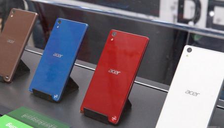 Điện thoại cao cấp 3 sim, pin khủng của Acer lộ diện