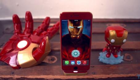 iPhone 6 cũng có phiên bản Iron Man