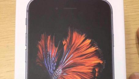 Xuất hiện vỏ hộp iPhone 6s/6s Plus trước giờ ra mắt