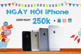 Siêu khuyến mại ngày hội iPhone: Tặng dán cường lực miễn phí và giảm giá iPhone