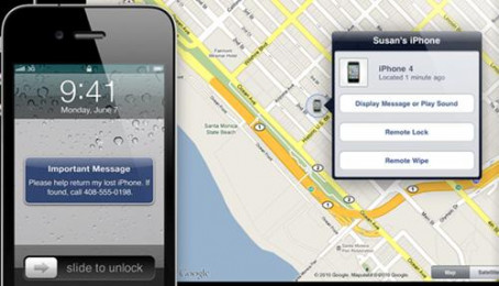 Tìm iPhone và xác định vị trí iPhone
