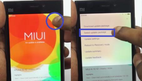 Hướng dẫn chạy ROM gốc cho Xiaomi Mi3