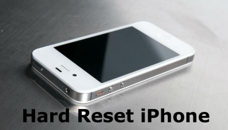 Hướng dẫn cách Reset iPhone 4/5/6/6s nhanh nhất