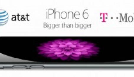 Mua iPhone 6, iPhone 6 Plus nhà mạng AT &T, Verizon, TMobile