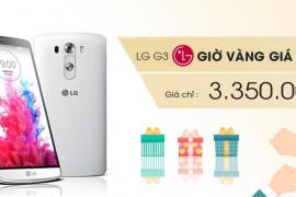 Giờ vàng LG giảm giá ngay 300.000 kèm quà tặng siêu khủng
