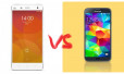 Xiaomi Mi4 vs Samsung galaxy S5: Chất lượng ngang ngửa, giá tiền chênh lệch