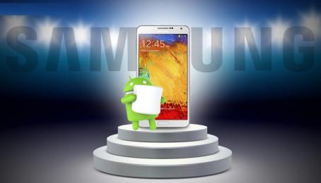 Danh sách smartphone Samsung được lên Android 6.0