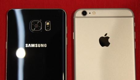 So sánh camera iPhone 6s lock và Samsung Galaxy Note 5