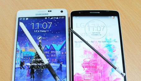 G3 Stylus có phải là đối thử xứng tầm với Galaxy Note 4 về bút cảm ứng?