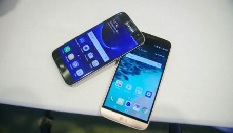 Galaxy S7 với LG G5 ai mạnh hơn ai?