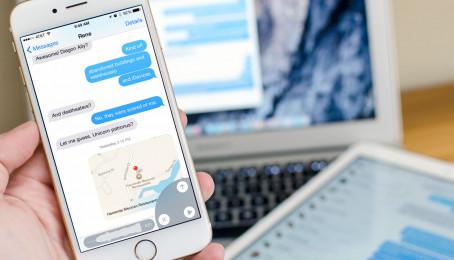 Bật mí một số thao tác tăng tốc độ chat iMessage trên iPhone 6 Plus cũ (Phần 1)