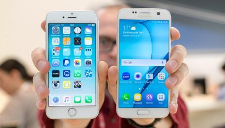 So sánh thông số kỹ thuật của Samsung Galaxy S7 và iPhone 6s cũ (Phần 2)