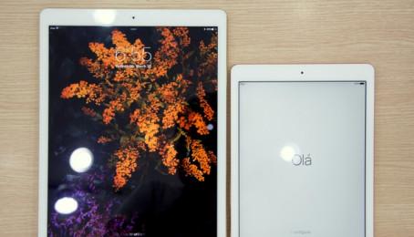 iPad Pro vàng hồng tại VN