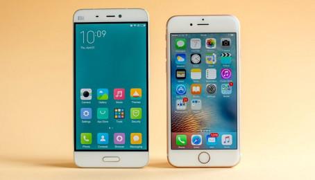 Xiaomi Mi 5 vs iPhone 6s cũ: Apple Mỹ vs Apple Trung Hoa (Phần 1)