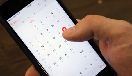 Hướng dẫn tùy chỉnh lịch Calendar trên iPhone 6 Plus cũ