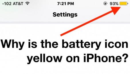 Sửa lỗi cọc pin hiển thị màu vàng trên iPhone 6 Plus cũ