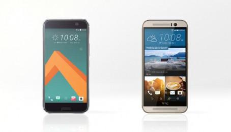 So sánh thông số kỹ thuật của HTC M10 và HTC One M9