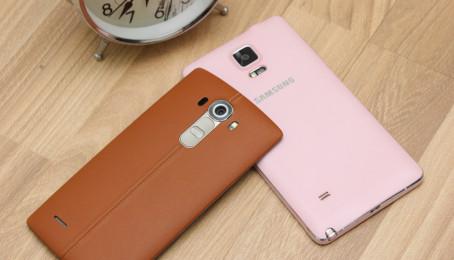 So sánh LG G4 và Samsung Galaxy Note 4: Bạn chọn da thật hay giả da?