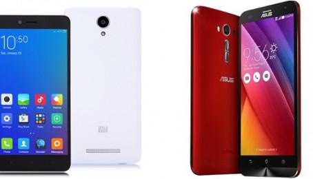 So sánh Xiaomi Redmi Note 2 vs Asus Zenfone 2 Laser: Cán cân nghiêng về bên nào?