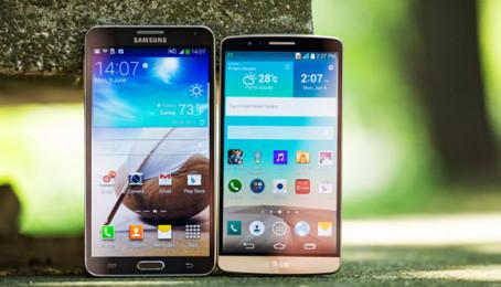 So sánh Samsung Galaxy Note 3 và LG G3: Đâu là smartphone bạn nên sở hữu?