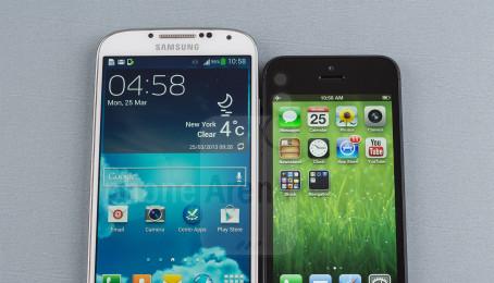 So sánh Galaxy S4 và iPhone 4S để nhận biết chất lượng sản phẩm nào tốt hơn.