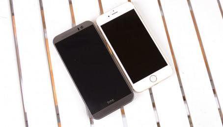 So sánh HTC M9 và iPhone 6 chi tiết nhất