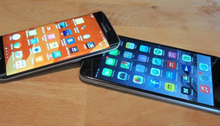 So sánh Samsung Galaxy S6 Edge và iPhone 6 Plus: Thiết kế có gì khác biệt?