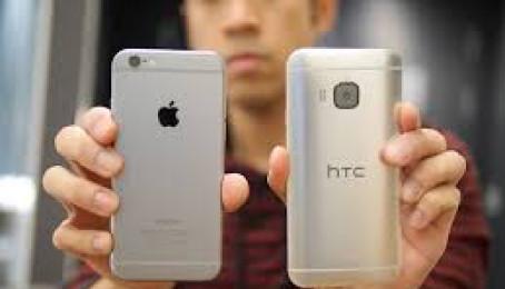 So sánh đặc điểm giữa iPhone se với HTC One M8