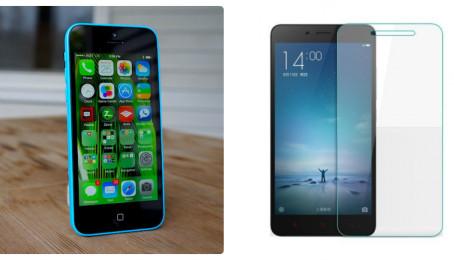 So sánh cấu hình iPhone 5C Lock và Xiaomi Redmi Note 2 Glass