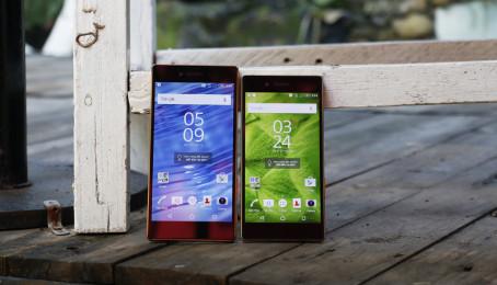 So sánh thiết kế của Sony Xperia Z5 Dual vs Sony Xperia Z5 Premium