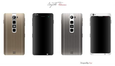 Mẫu thiết kế smartphone độc lạ mang tên Bugatti Chronos