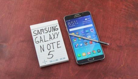 Cách khôi phục cài đặt gốc cho Samsung Galaxy Note 5 cũ