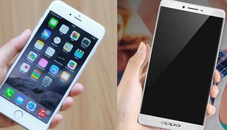 So sánh cấu hình của iPhone 6S và Oppo R7S