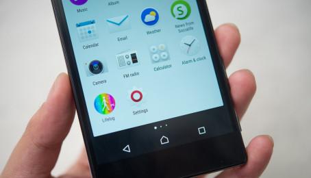 Tính năng theo dõi sức khỏe trên Sony Xperia Z5 cũ