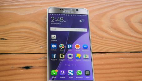 Cách sạc pin đúng cách cho Samsung Galaxy Note 5 cũ