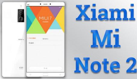 """Hot! Lộ diện Mi Note 2 thiết kế cực đẹp, cấu hình """"khủng long"""""""