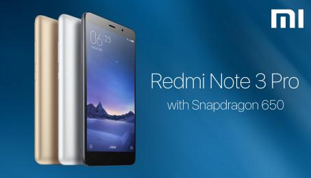 So sánh Xiaomi Redmi Pro với Readmi Note 3
