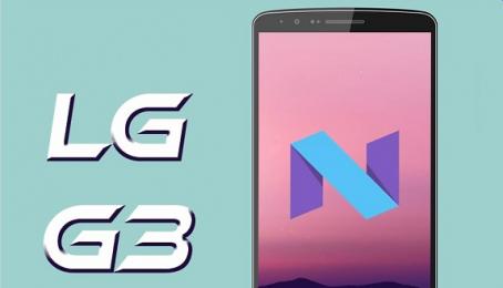 LG G3 sẽ sớm lên đời Android 7.0