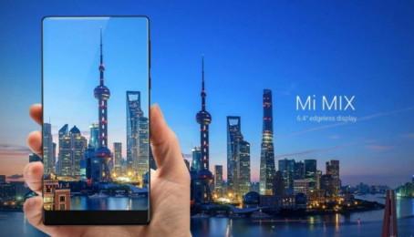 """Lộ diện Xiaomi Mi Mix được đánh giá """"ngang cơ"""" iPhone 7"""