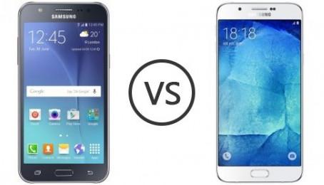 Chọn Galaxy J7 hay Galaxy A7 2016 trong tầm giá dưới 5 triệu?