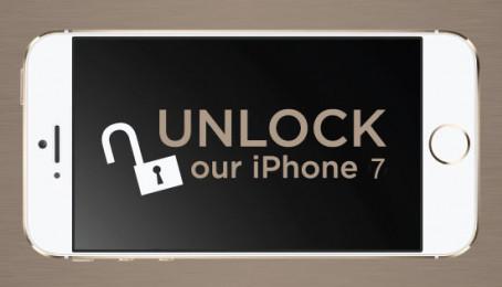 Hướng dẫn Unlock iPhone 7 Lock