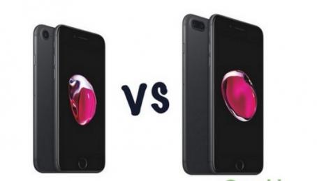 So sánh điểm giống và khác trên iPhone 7 và 7 Plus