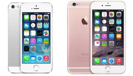 So sánh cảm giác cầm nắm trên iPhone 5s và 6s