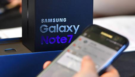 Không sợ cháy nổ Galaxy Note 7 cũ vẫn được xem ra bán