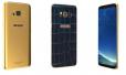 Galaxy S8 phiên bản da cá sấu kim cương xanh
