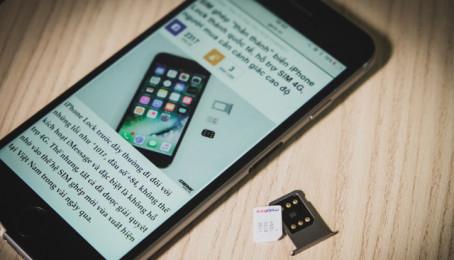 Nhờ sim ghép mà iPhone Lock đã bị làm giả