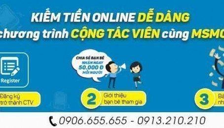 MSmobile Tuyển Cộng Tác Viên Kinh Doanh Online