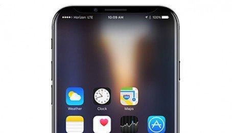 iPhone 8 xuất hiện ở Việt Nam: Bỏ nút Home, không viền màn hình