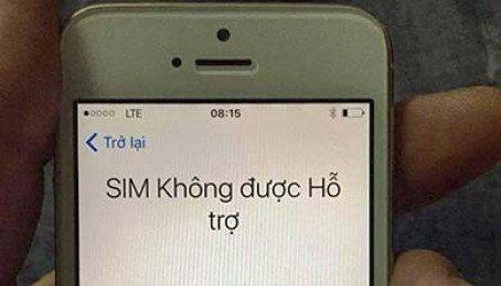 Khắc phục Sim Ghép bị khóa trên iPhone Lock